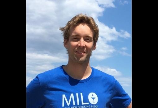 Bob Lansdorp in Milo t-shirt
