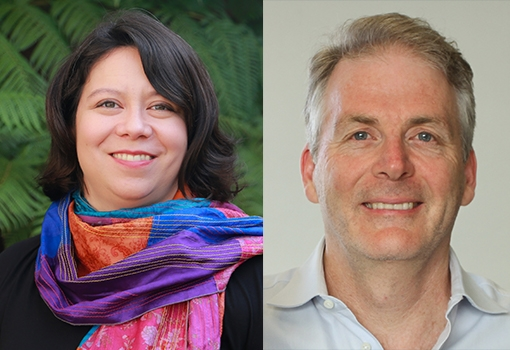 Rachel Segalman (left) and Craig Hawker, Elected to National Academy of Engineering