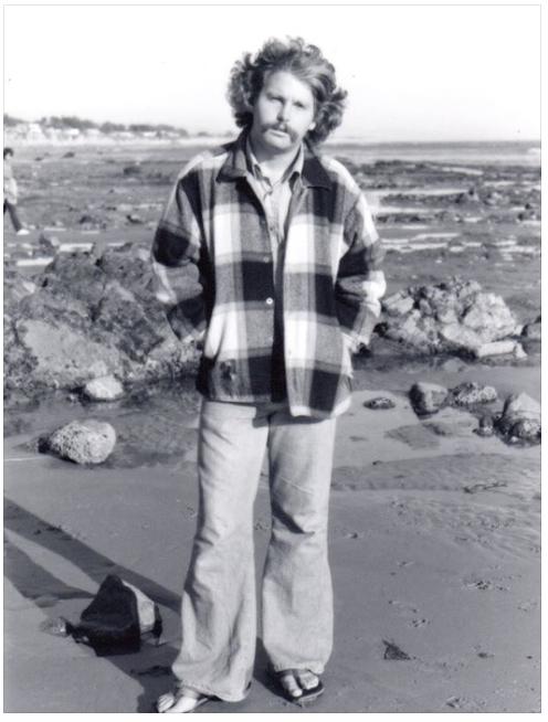 Robert Rankin as a brand new undergrad in 1973 at Devereax Point.