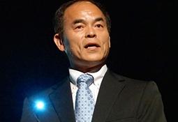 Shuji Nakamura speaking about LED technology